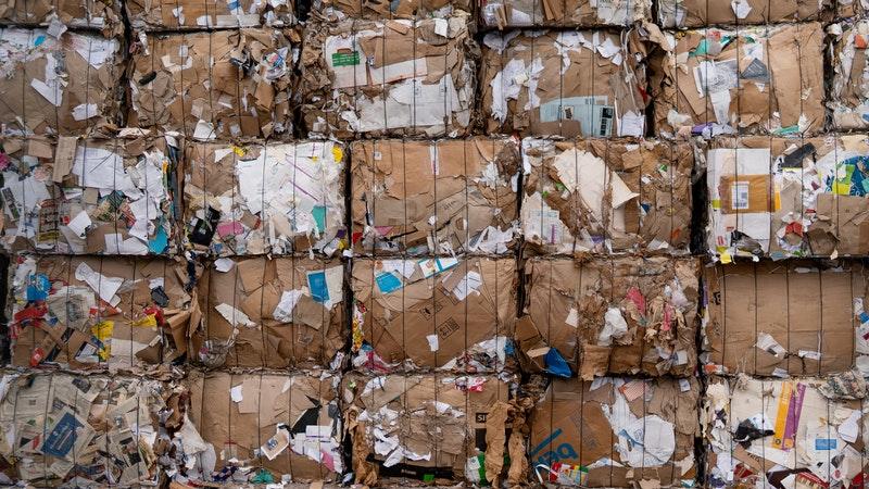 Baled Rubbish